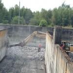 Rozpoczęcie prac rozbiórkowo-budowlanych